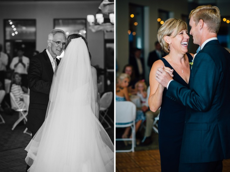 Carolina Golf Club, Wedding Reception, Charlotte NC Wedding, wedding photography, wedding ceremony, father daughter dance, mother son dance