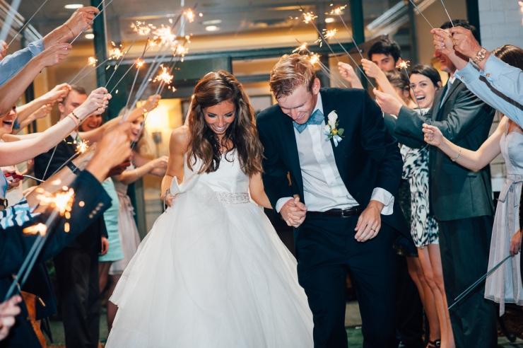 Carolina Golf Club, Wedding Reception, Charlotte NC Wedding, wedding photography, wedding ceremony, sparkler departure