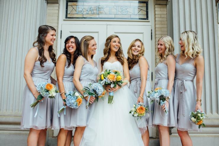 St Johns Church, Wedding Ceremony, Charlotte NC Wedding, wedding photography, bridesmaids