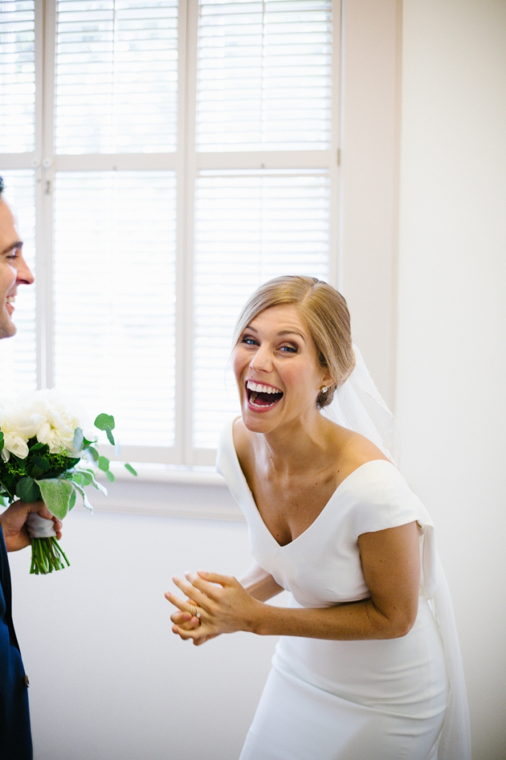 Newlyweds celebrate after their ceremony at Myrtle Beach Presbyterian Church