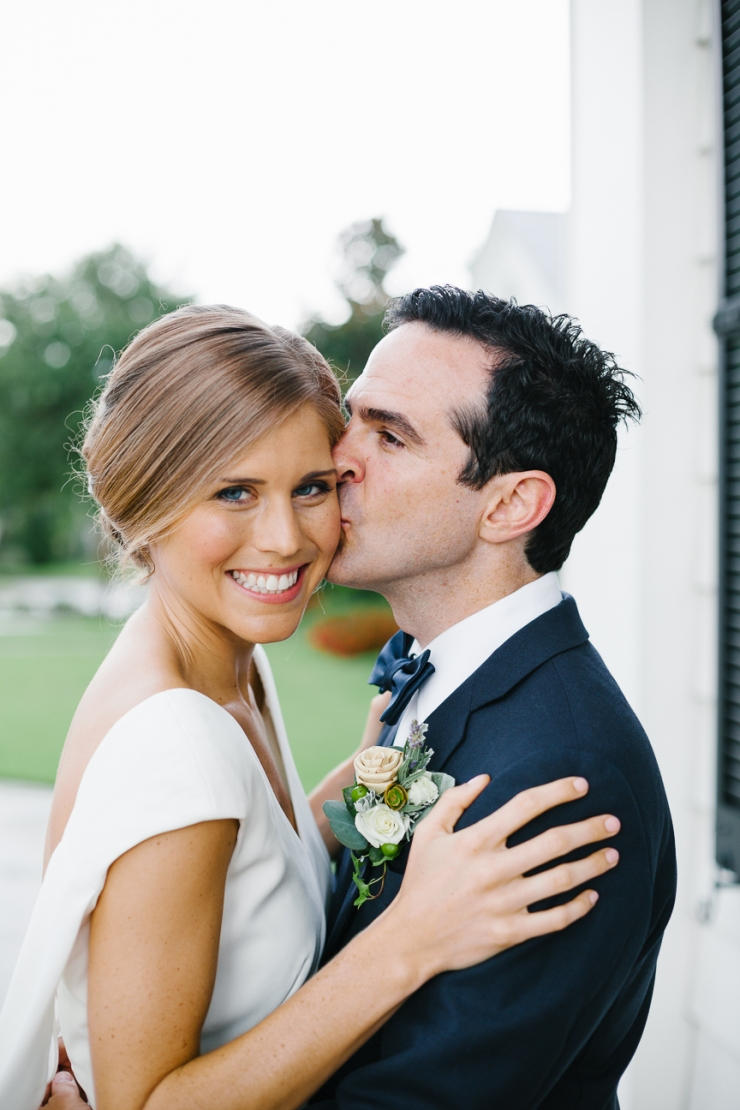 Bride and groom portrait at Pine Lakes Country Club, Myrtle Beach