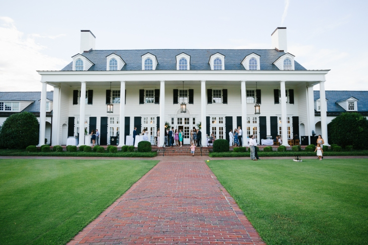 Pine Lakes Country club reception with lawn games