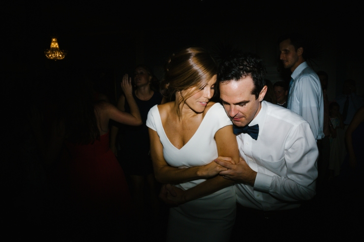 Bride and Groom dance at their Pine Lakes Country Club reception
