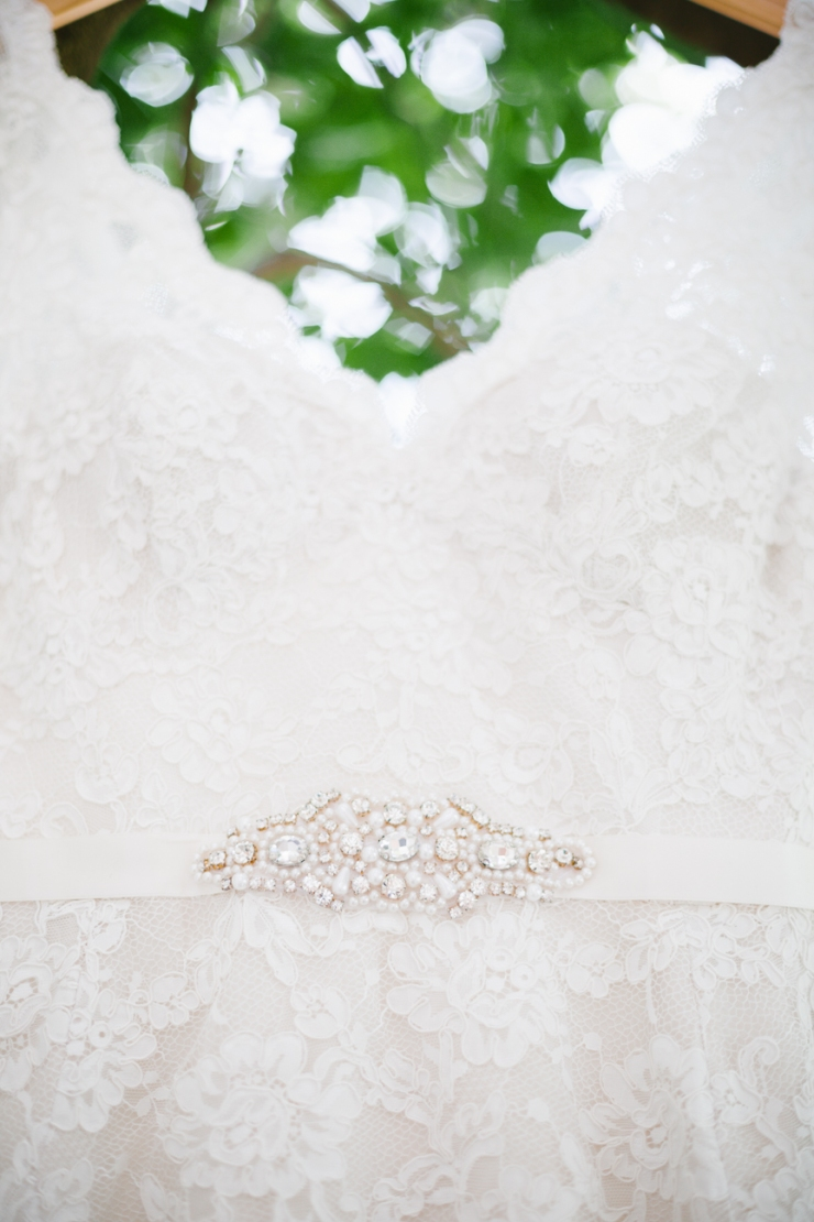 wedding dress, bride's gown, pearl and diamond sash, memphis tn wedding