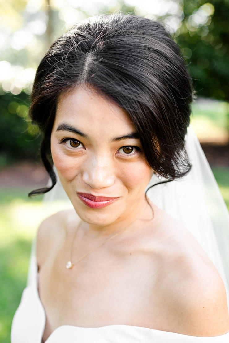 bridal portrait, memphis tn wedding