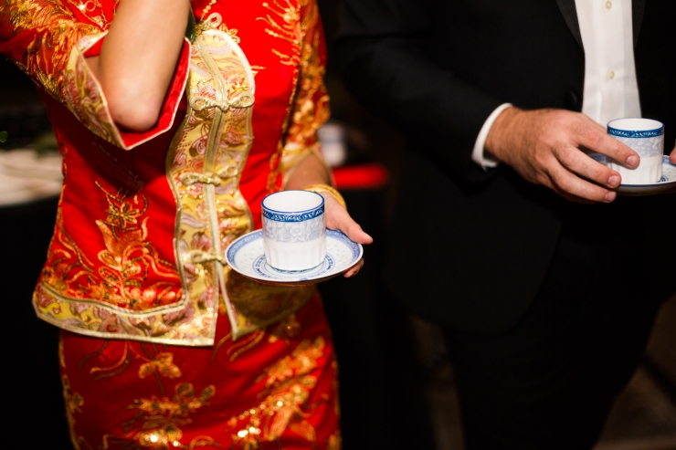 tea cups for a Chinese tea ceremony at reception, memphis TN wedding