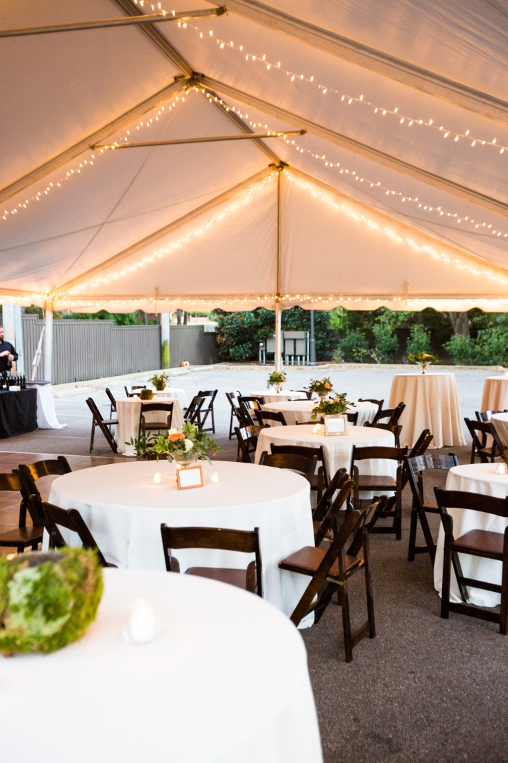 outdoor tented reception, detail shots, Acre Restaurant, Memphis TN Wedding